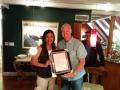 Dr Anita Krishnan with Dr Raymond Weiss